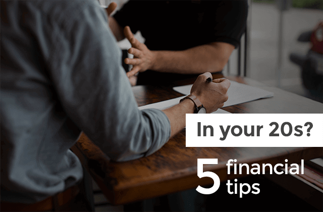 Financial advise for young
